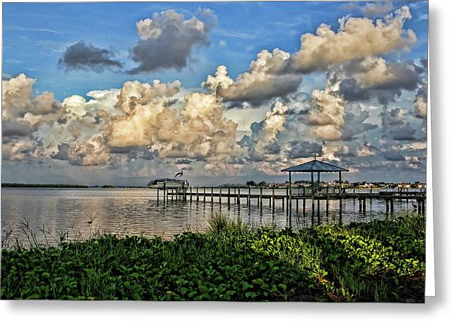 Light And Shadows Greeting Card by HH Photography of Florida