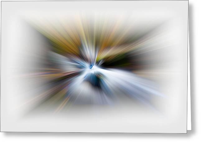 Light Angels Greeting Card by Debra and Dave Vanderlaan