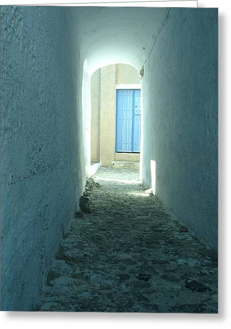 Light At The End Of The Tunnel Greeting Card by Jennifer Kelly