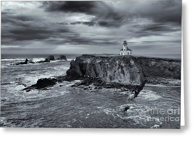 Light Before The Storm Greeting Card by Mike Dawson