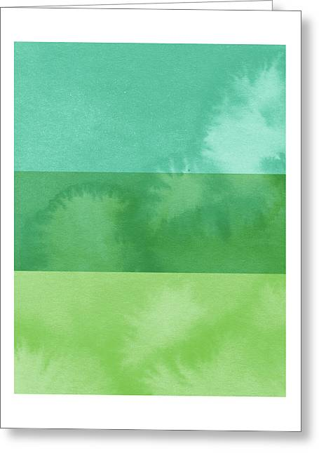 Light Breeze- Art By Linda Woods Greeting Card by Linda Woods