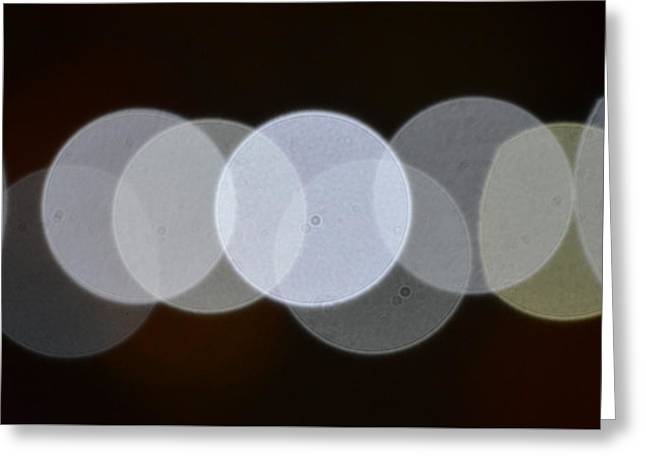 Light Cells Greeting Card by Riad Belhimer