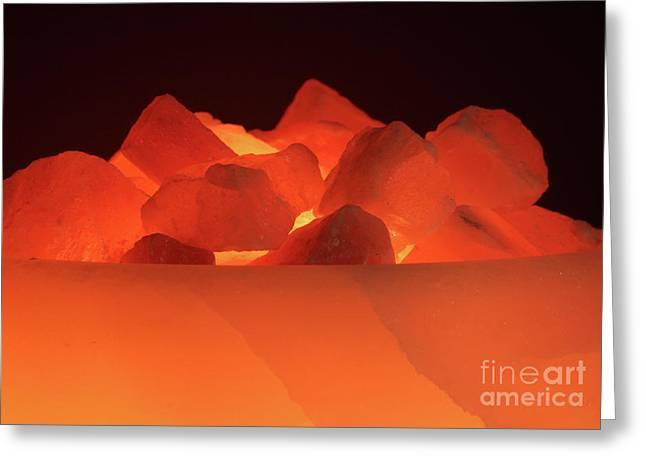 Light Greeting Card by Christine Amstutz