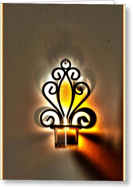 Light For New Beginning Greeting Card