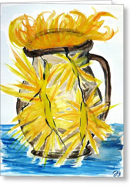 Light From Within Greeting Card