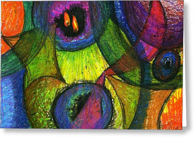 Light In The Darkness Greeting Card by Cassandra Donnelly