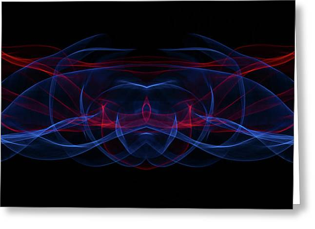 Light Motion Series 3 Greeting Card
