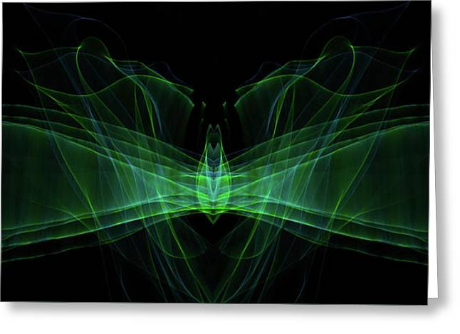 Light Motion Series II 2 Greeting Card