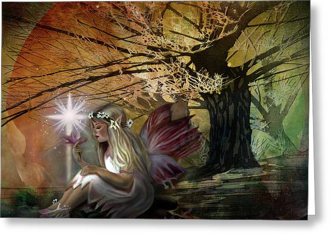 Light Of Earendil Greeting Card