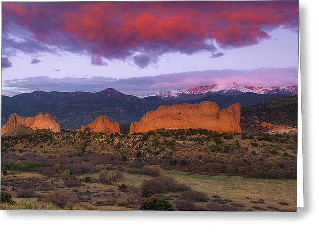 Greeting Card featuring the photograph Light Of The Sun by Tim Reaves