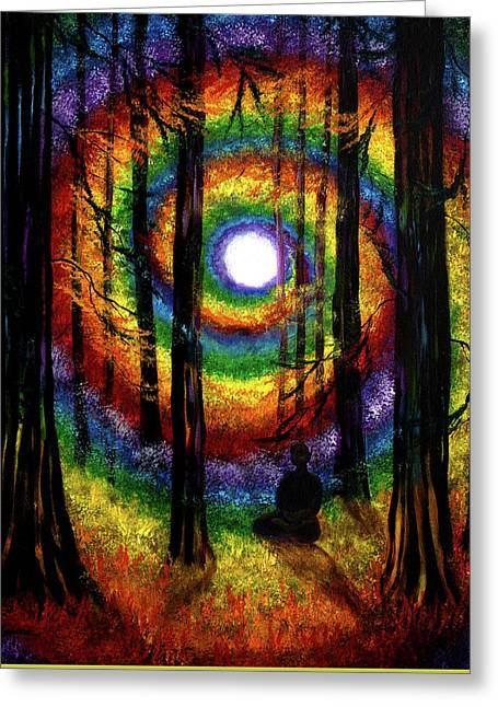 Light Of Tolerance Greeting Card by Laura Iverson