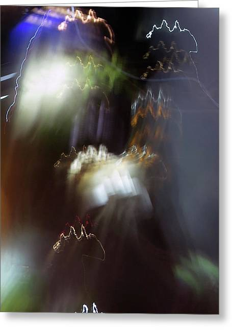 Light Paintings - No 4 - Source Energy Greeting Card