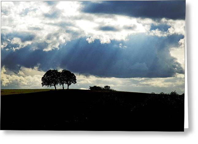 Light Rays Greeting Card by Margaret Hood