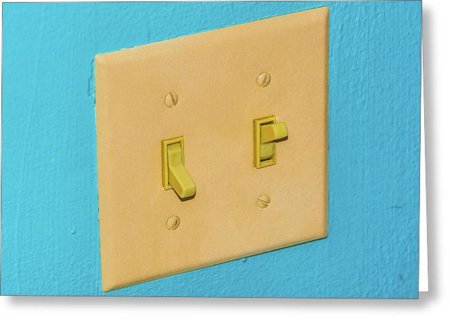 Light Switch Greeting Card