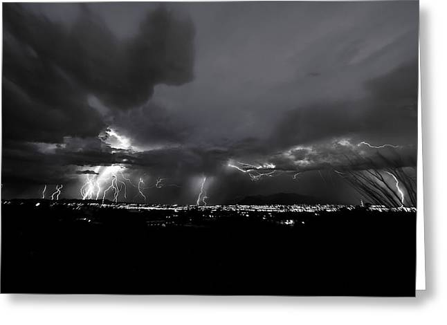 Light The Night Greeting Card by Chris Featherstone