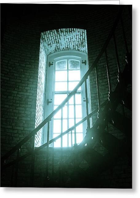 Light Through The Currituck Window Greeting Card by Joni Eskridge