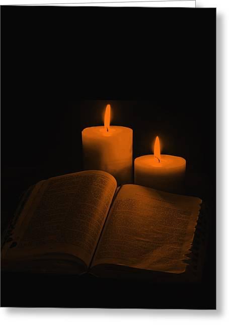 Light To My Path Greeting Card