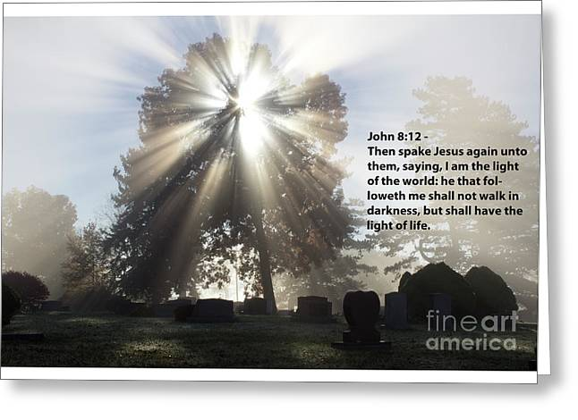 Light Verse Greeting Card by Tara Lynn