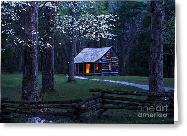Light Within Greeting Card by Anthony Heflin