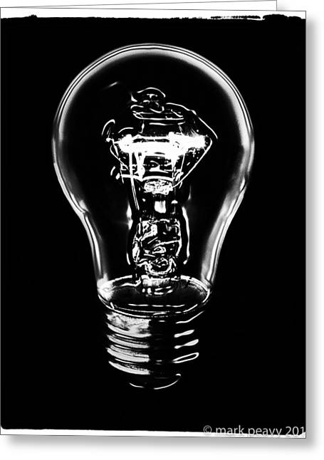 Lightbulb Greeting Card