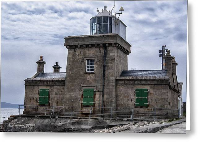 Lighthouse At Blacksod Greeting Card