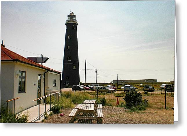 Lighthouse, Dungeness, Kent Greeting Card