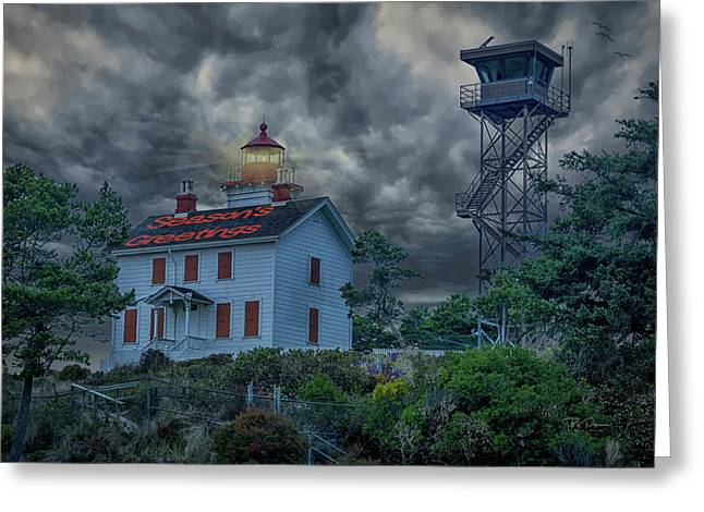 Lighthouse Greetings Greeting Card