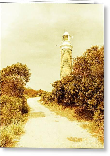 Lighthouse Lane Greeting Card