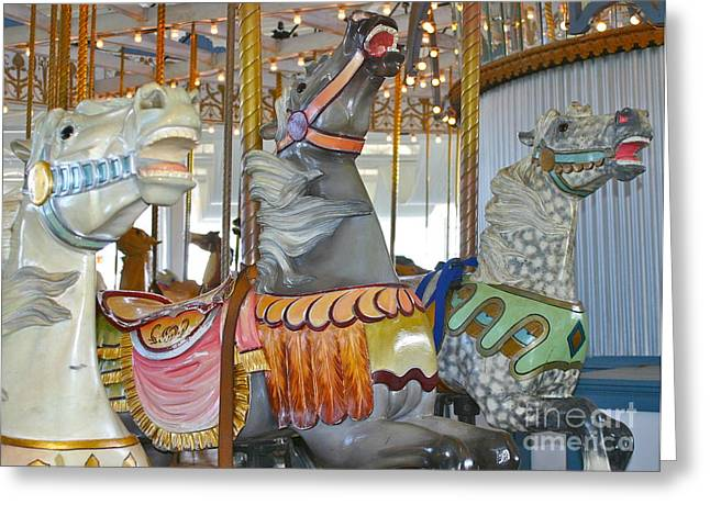 Lighthouse Park Carousel Greeting Card