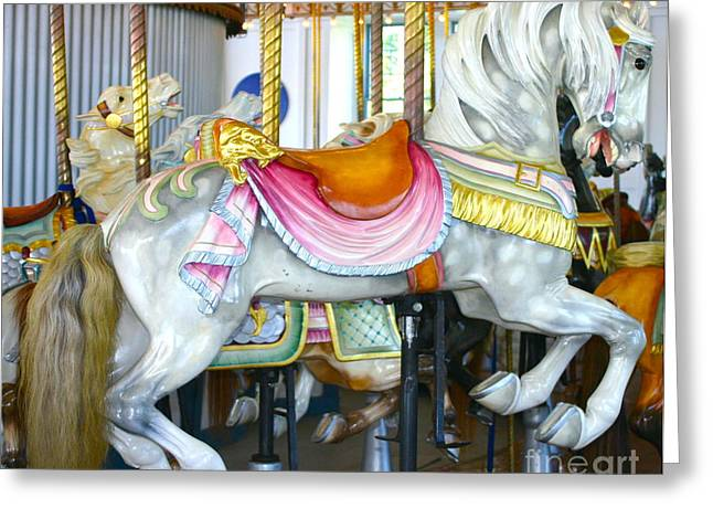 Lighthouse Park Carousel D Greeting Card