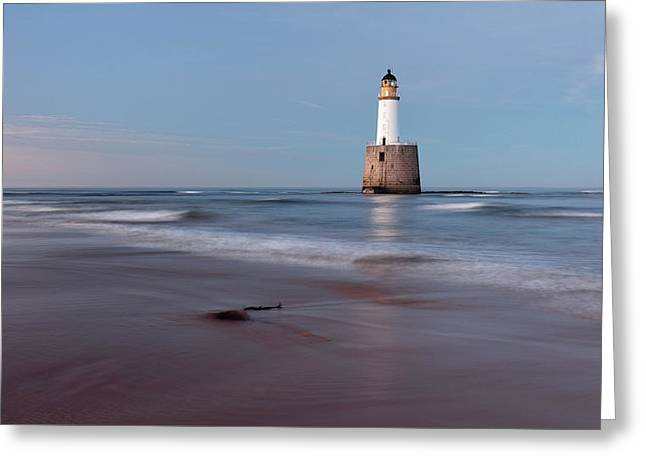 Greeting Card featuring the photograph Lighthouse by Grant Glendinning