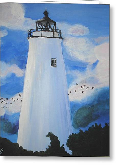 Lighthouse Greeting Card