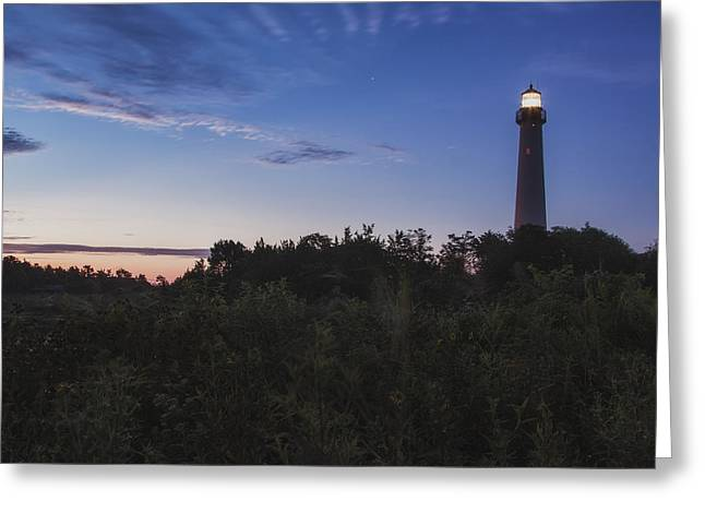 Lighthouse Summer Sunrise Greeting Card