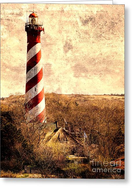 Lighthouse Westerlichttoren Greeting Card