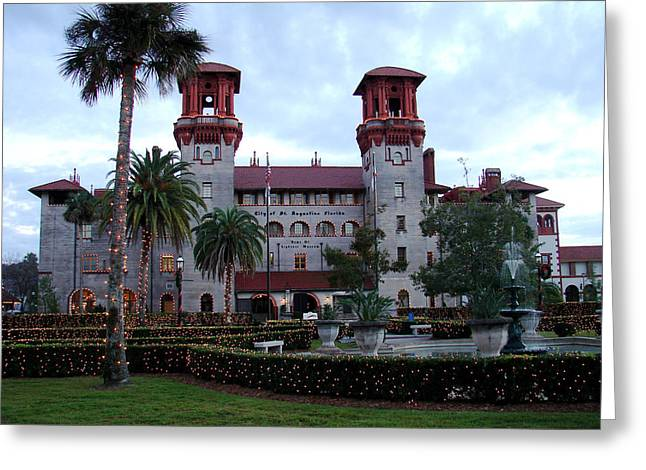 Lightner Museum Greeting Card by Tobi Czumak