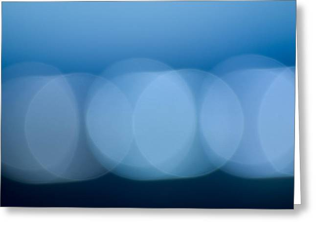 Lights Greeting Card by Felix M Cobos