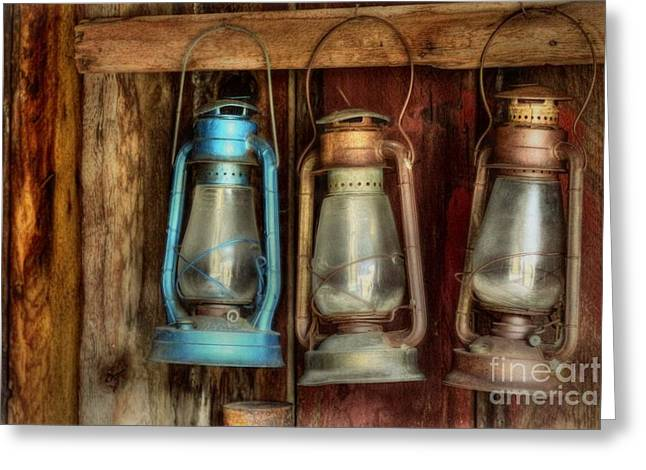 Lights Of Bodie Greeting Card by Benanne Stiens