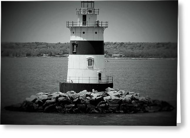 Lights Out-bw Greeting Card