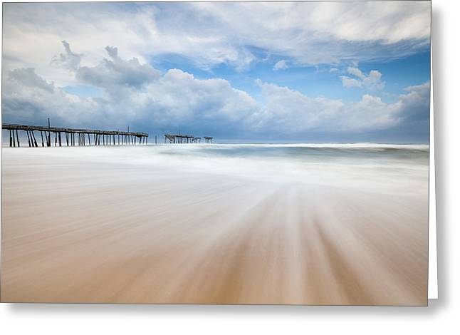 Like A Dream Into The Unknown Greeting Card by Mark VanDyke
