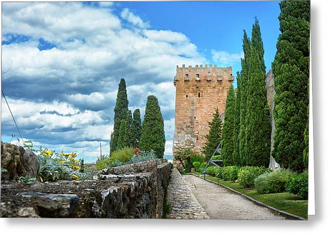 Like A Fortress In The Sky Greeting Card