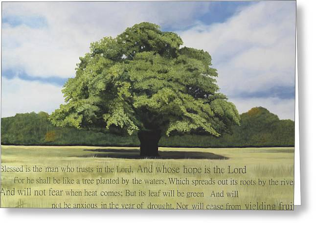 Like A Tree Greeting Card by Hannah Harris