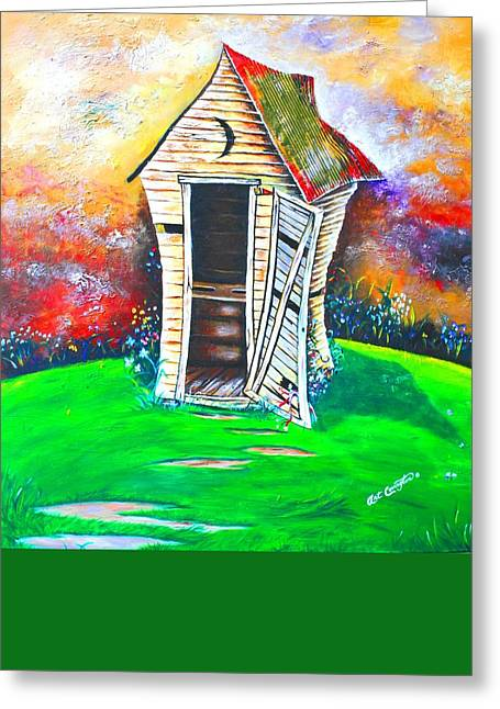 Lil Outhouse Greeting Card