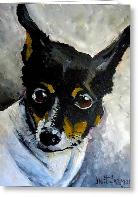 Lil Rat Terrier Greeting Card