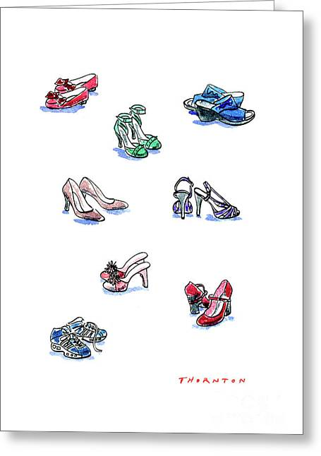 L'il Shoes Greeting Card