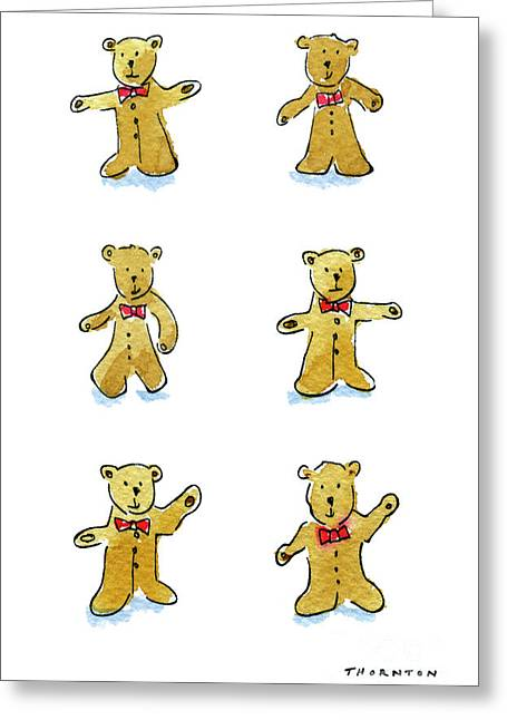 L'il Teddies Greeting Card
