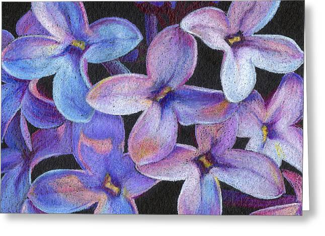 Lilac 3 Greeting Card by Audi Swope