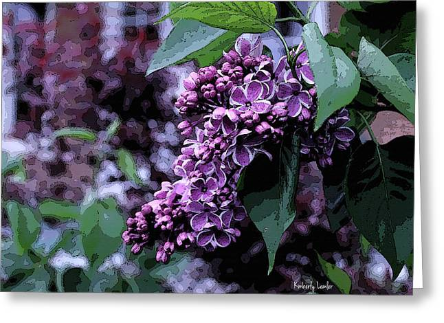 Lilac Heaven Greeting Card