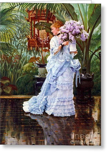 Lilacs 1876 Greeting Card by Padre Art