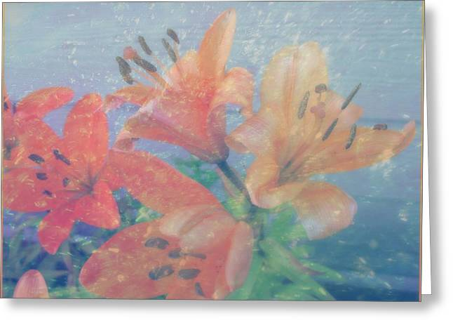Lilies #1 Greeting Card