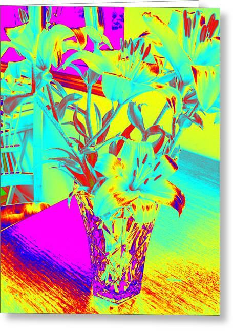 Lilies #4 Greeting Card